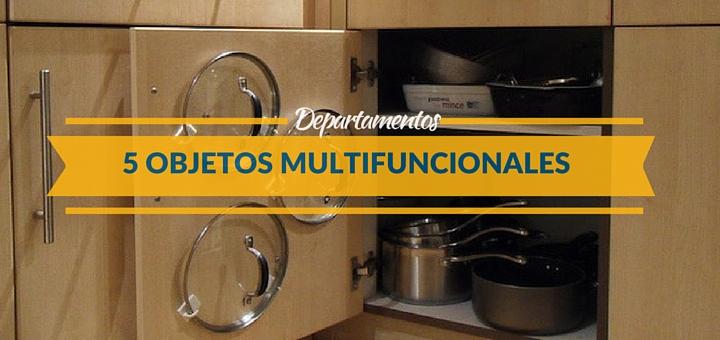 5 Objetos multifuncionales para organizar tu departamento