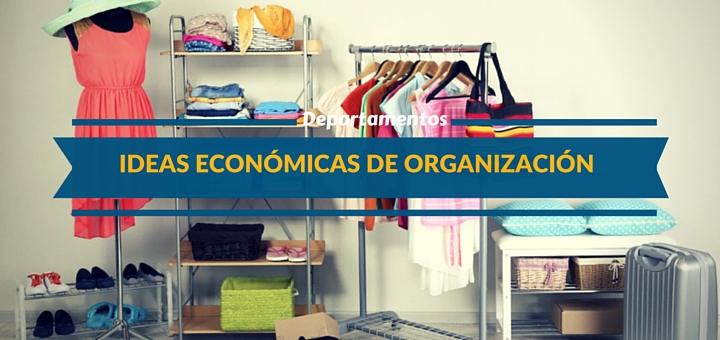 Cinco ideas econ micas para organizar un departamento for Ideas economicas para el hogar