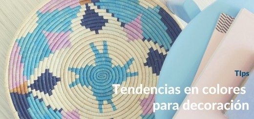 Últimas tendencias en colores para decoración de departamentos