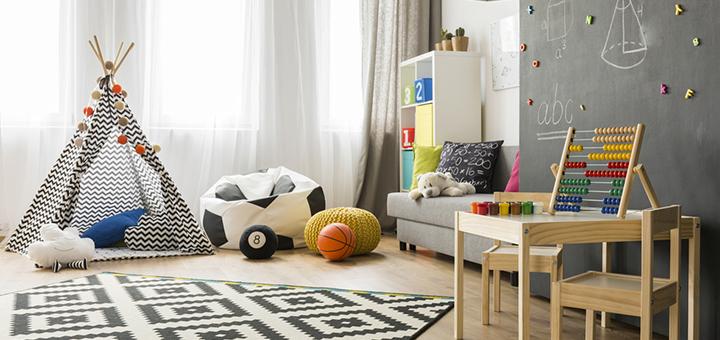 pisos alfombras departamento seguro ninos