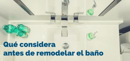 remodelar el baño departamentos jesus maria