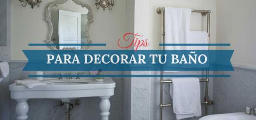Once consejos para decorar tu baño