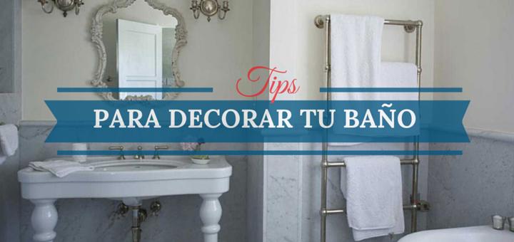 Diez consejos para decorar el ba o de tu departamento - Como decorar tu bano ...