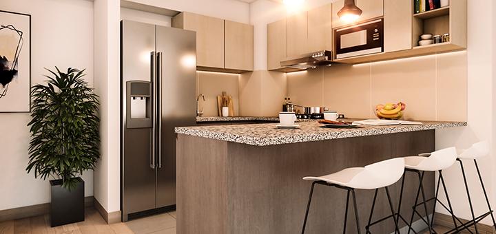 tips organizar cocina pequena ciudaris inmobiliaria