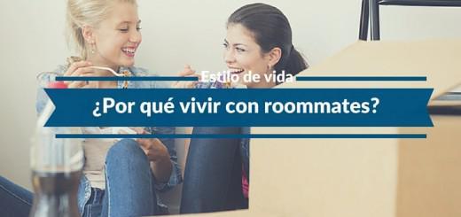 razones y beneficios vivir con roommate