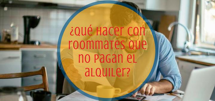 Departamento nuevo, roommates no pagan