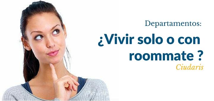 Compré un departamento, ¿Debería vivir solo o con un roommate?