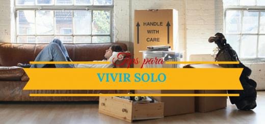 Consejos para aprender a vivir solo en tu departamento nuevo